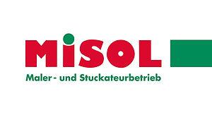 MISOL Logo 4-farbig mit Balken Webseite.