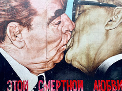 Iconic Kiss (Berlin Wall)