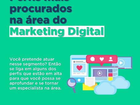 Perfis mais procurados no Marketing Digital
