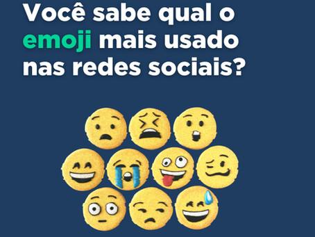 Qual o emoji mais usado nas redes sociais?
