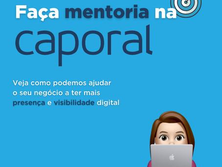 Faça mentoria na Caporal