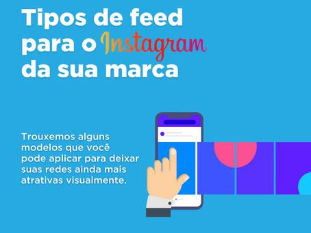 Tipos de feed para o Instagram da sua marcar