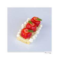 Tarte fraise vanille