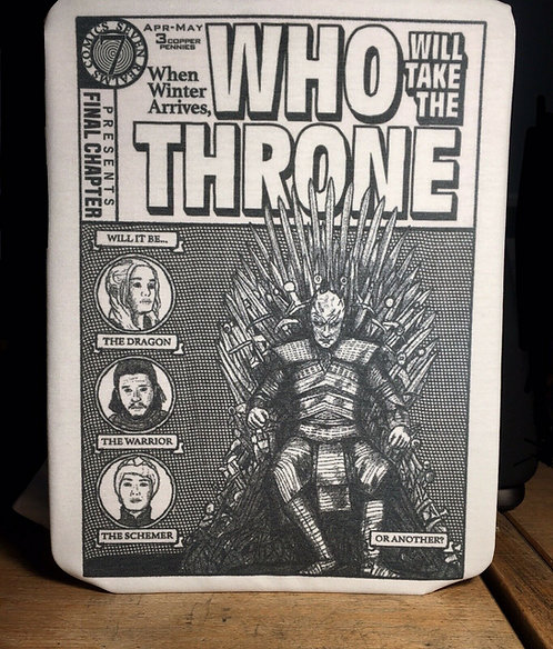 Game of Thrones Old School Comic Cover T-Shirt - GoT Night King Winter is Here