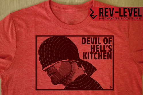 Daredevil Devil of Hell's Kitchen T-Shirt - Inspired by Charlie Cox and Marvel