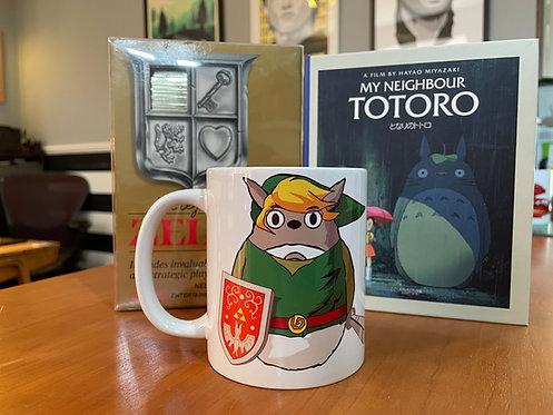 My Neighbours Legend - Tree Waker Zelda - Totoro X Link Mug - Studio Ghibli Cup