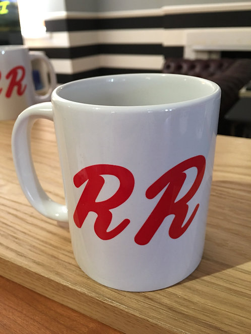 Twin Peaks RR Diner Mug - David Lynch Inspired R and R Diner