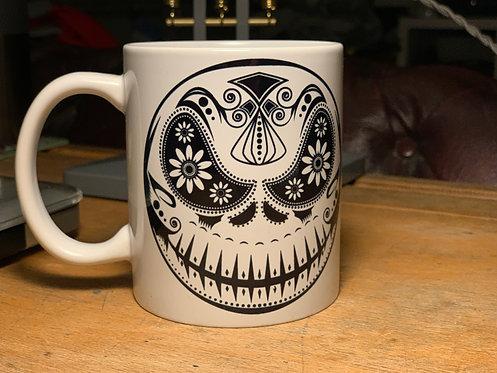 Jack Skellington Day Of The Dead Sugar Skull Mug - Nightmare Before Christmas