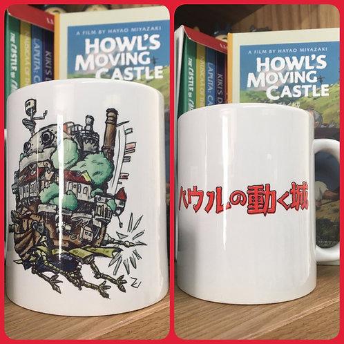 Howl's Moving Castle Sketch Mug - Howls Studio Ghibli Miyazaki ハウルの動く城 Cup