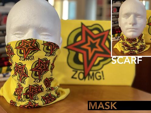 Persona 5 Ryuji Sakamoto ZOMG! Mask Scarf Snood Face Covering Neck Gaiter