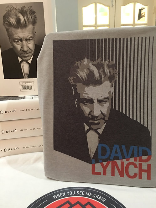 David Lynch Portrait T-Shirt - Inspired by Twin Peaks Director Tee