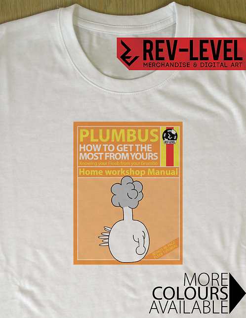 Rick and Morty Inspired Plumbus Instruction Guide T-Shirt - Haynes Manual Homage