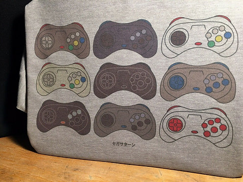 Sega Saturn Japanese Controller T-Shirt - Inspired by Japanese Saturn