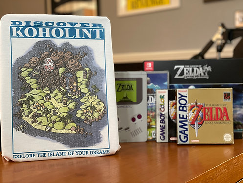 Link's Awakening Koholint T-Shirt - Legend of Zelda