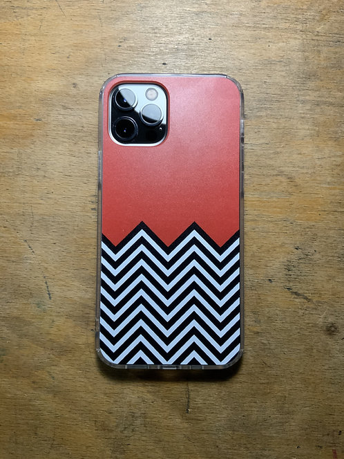 Twin Peaks Black Lodge Protective Phone Case Iphone and Galaxy