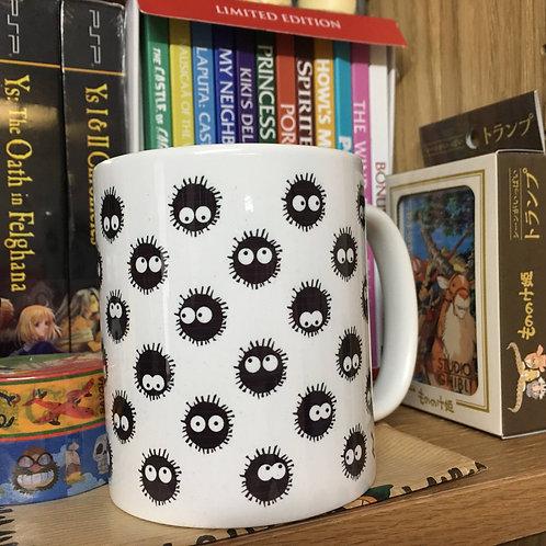 My Neighbour Totoro Susuwatari Soot Sprites Mug - Miyazaki's Studio Ghibli Mug
