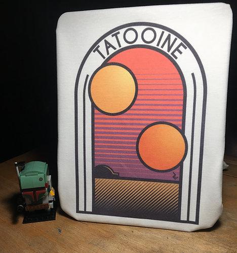 Star Wars Retro Tatooine Poster T-Shirt - Old School Disco Tee