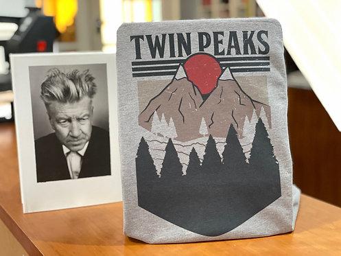 Twin Peaks Poster T-Shirt - David Lynch Graphic Design