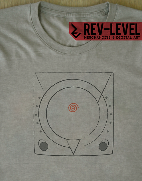 Sega Dreamcast Illustration T-Shirt - Japanese Version - Tee