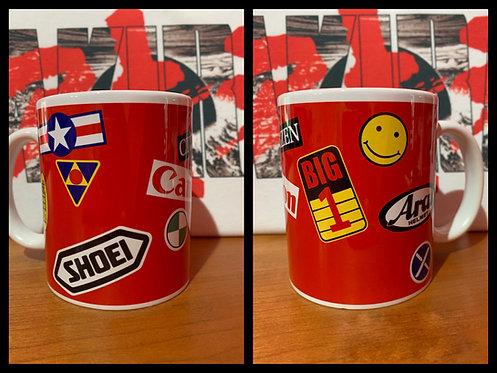 Akira Kaneda's Bike Decal - Kaneda Mug - Coffee Cup