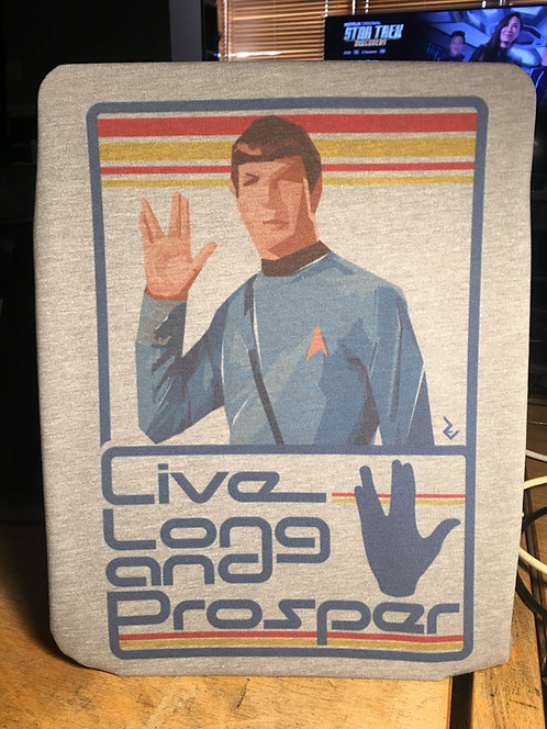 Star Trek Spock Live Long and Prosper T-Shirt - Inspired by Leonard Nimoy