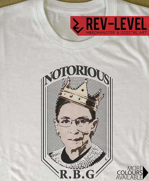 Notorious RBG Poster - Ruth Bader Ginsburg Feminist T-Shirt