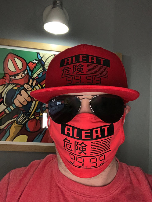 Metal Gear Solid Alert Phase Face Covering Mask
