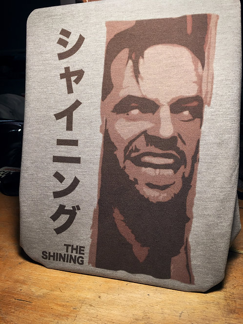 "The Shining Japanese Movie Poster T-Shirt - Jack Nicholson ""Here's Johnny"" Tee"
