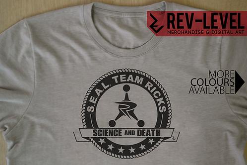 Rick and Morty S.E.A.L Team Ricks T-Shirt - Council of Ricks X Navy Seals