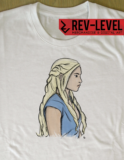 Game of Thrones Daenerys Targaryen T-Shirt - A Song of Ice and Fire
