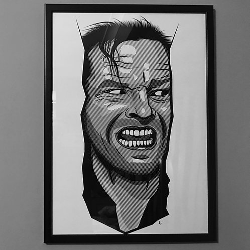 The Shining Here's Johnny Large A2 Poster Print - Limited Quantity