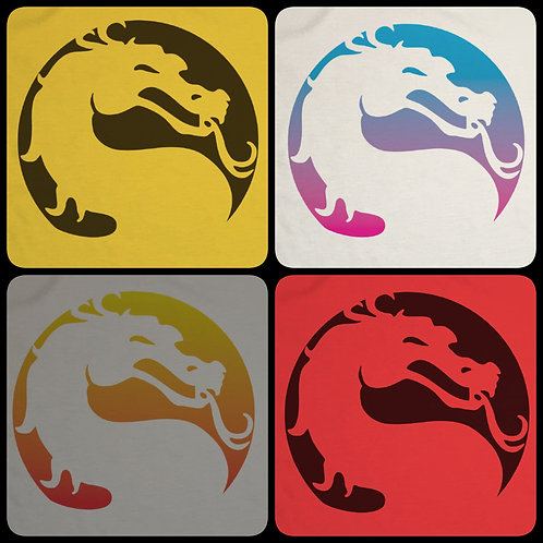Mortal Kombat Inspired Dragon T-Shirt - Inspired By MK 11 Tee