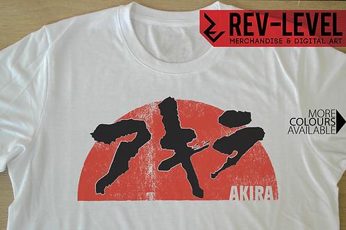 Akira Sunset Tee - アキラ Neo Tokyo Anime T-Shirt