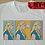 Thumbnail: Daenery Targaryen Dracarys T-Shirt - Game of Thrones, Roy Lichtenstein Inspired