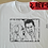 Thumbnail: Twin Peaks BOB and Agent Cooper Laughing Sketch T-Shirt - Inspired Laughing BOB