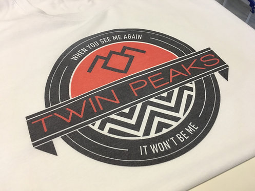 Twin Peaks Emblem T-Shirt - David Lynch Black Lodge Inspired Tee