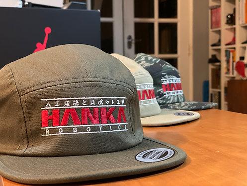 Hanka Robotics Ghost In The Shell GitS 5 Panel Cap Hat by Rev-Level
