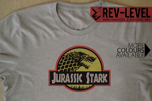 Game of Thrones 'Jurassic Stark' T-Shirt - Jurassic World X GoT House Stark