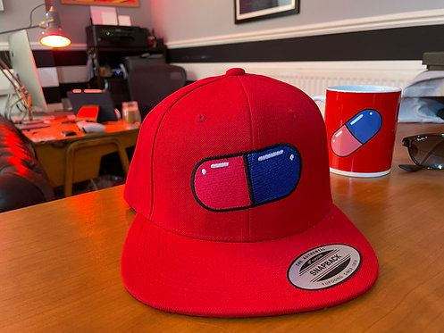 Akira Pill Snapback Cap - Hat by Rev-Level