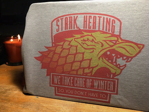 Game of Thrones 'Stark Heating' T-Shirt - GoT House Stark Winter is Coming