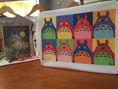 My Neighbour Totoro Andy Warhol Inspired T-Shirt - Miyazaki X WarholGhibli Tee