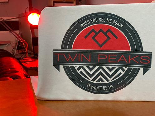 Twin Peaks Emblem T-Shirt - David Lynch Black Lodge Inspired Tee