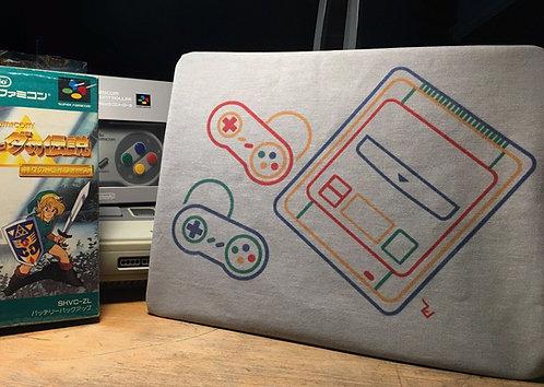 Super Famicom T-Shirt - Super Nintendo SNES Japanese Box Art Tee