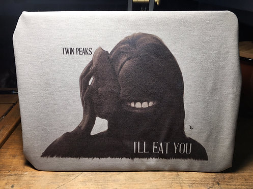 "Twin Peaks Sarah Palmer Face Removal ""I'll Eat You"" T-Shirt - David Lynch Creepy"