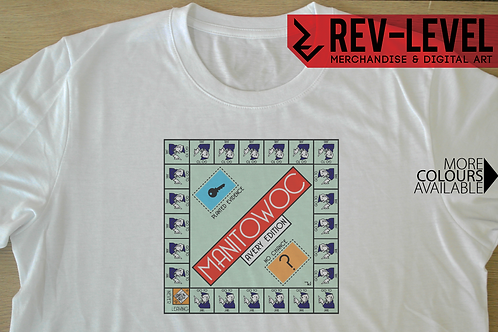 Making a Murderer Manitowoc Monopoly T-Shirt - Manitowoc County