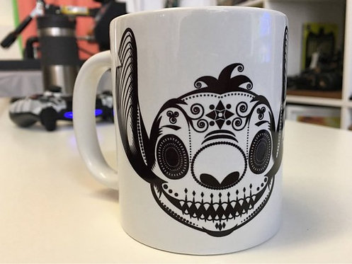 Stitch Day Of The Dead Sugar Skull Mug - Disney's Lilo and Stitch Inspired Cup