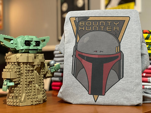 Boba Fett 'Bounty Hunter' Cartoon T-Shirt - Star Wars Graphic Art Tee
