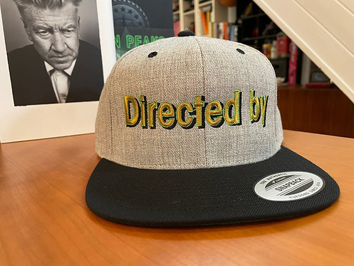 Twin Peaks Directed By David Lynch Snapback Cap - Hat by Rev-Level