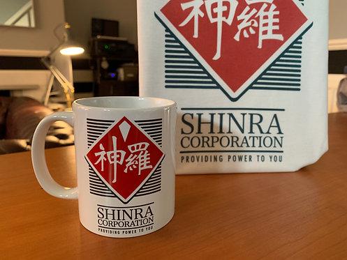 Final Fantasy VII Shinra Corp Mug - FF7 Coffee Cup