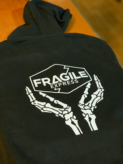 Fragile Express Hoodie inspired by Hideo Kojima's Death Stranding